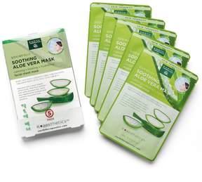 Earth Therapeutics 5-pk. Soothing Aloe Vera Face Masks