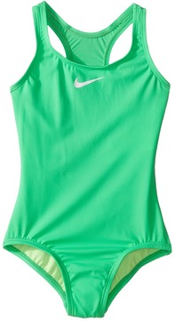 Nike Core Solid Racerback Tank Girl's Swimsuits One Piece