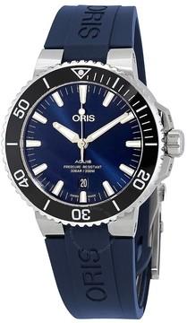 Oris Aquis Automatic Blue Dial Men's Watch 733-7730-4135BLRS