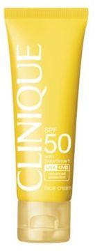 Clinique Sun SPF 50 Face Cream/1.7 oz.