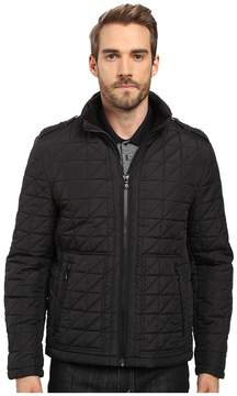 Kenneth Cole New York Quilted Poly Jacket Men's Coat