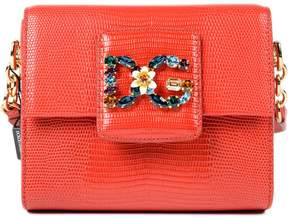 Dolce & Gabbana Mini Millennials Shoulder Bag - RED - STYLE