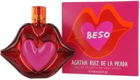 Agatha Ruiz De La Prada Beso Eau De Toilette Spray for Women 3.4 oz.