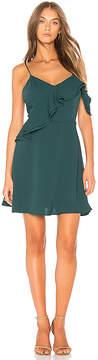J.o.a. Double Ruffle Fit & Flare Dress