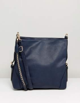 New Look Chain Strap Slouch Bag