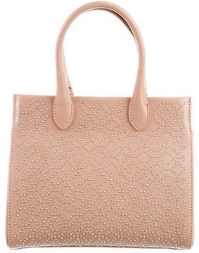Alaia Embellished Leather Mini Tote