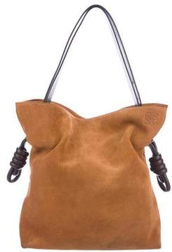 Loewe Suede Flamenco Knot Bag