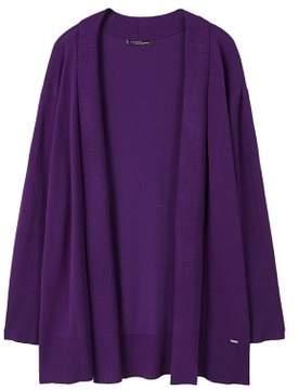 Violeta BY MANGO Fine-knit cardigan