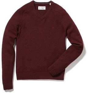 Original Penguin P55 100% Lambswool V-Neck Sweater