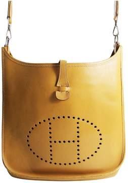 Hermes Evelyne leather handbag - BROWN - STYLE
