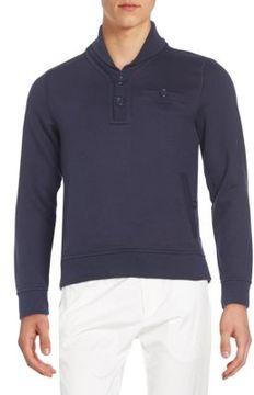 Gant Regular-Fit Shawl Collar Sweatshirt