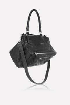 Givenchy Medium Pandora Bag In Washed-leather - Black