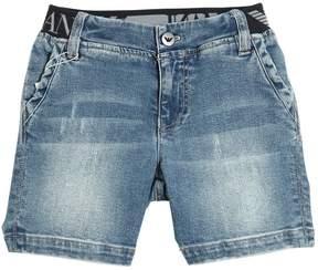 Armani Junior Stretch Denim Shorts