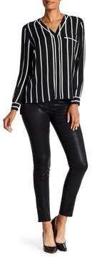1 STATE 1.State Lacquered Skinny Leggings