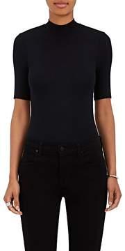 ATM Anthony Thomas Melillo Women's Rib-Knit Mock-Turtleneck Bodysuit
