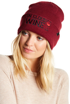 David & Young \On Cloud Wine\ Fisherman Beanie