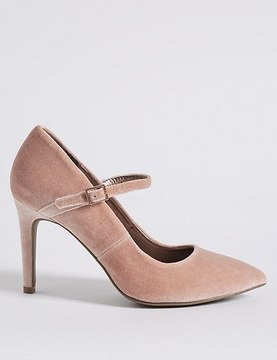 Marks and Spencer Stiletto Fine Strap Court Shoes
