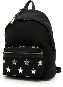 Saint Laurent City California Stars Backpack