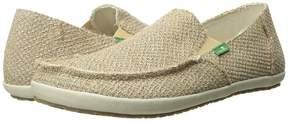 Sanuk Rounder Hobo Hemp Men's Slip on Shoes