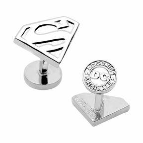 Accessories Silver Superman Shield Cufflinks