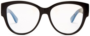 SAINT LAURENT Cat-eye acetate glasses
