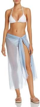 Echo Tissue Weight Ruana Swim Cover-Up