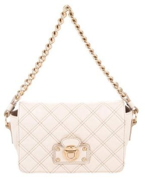 Marc Jacobs Mini Quilted Shoulder Bag - BROWN - STYLE