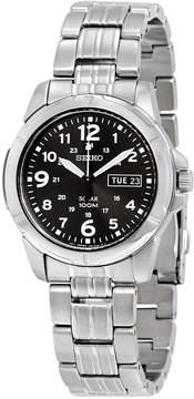 Seiko Black Solar Power Dial Men's Watch