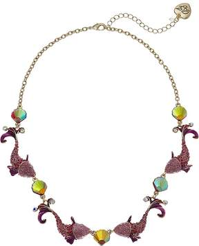 Betsey Johnson Fish Collar Necklace Necklace