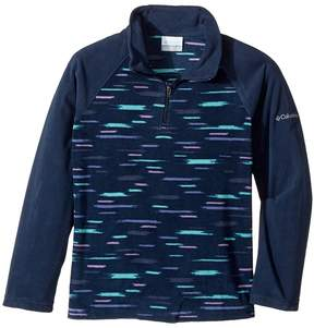 Columbia Kids - Glacialtm II Fleece Print Half Zip Girl's Fleece