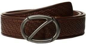 Z Zegna Fixed Woven Belt BPSMM3 Men's Belts