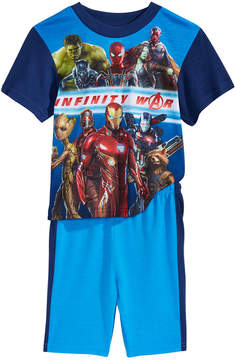 Marvel Marvel's 2-Pc. Infinity War Pajama Set, Little Boys & Big Boys