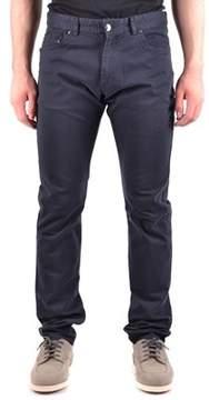 Paul & Shark Men's Blue Cotton Pants.