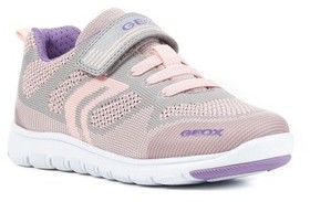 Geox Girl's Xunday Low Top Woven Sneaker