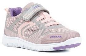 Geox Girl's Xunday Low Top Woven Sneaker