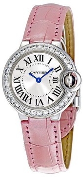 Cartier Ballon Bleu de 18k White Gold Small Watch