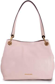 Michael Kors Raven Large Leather Shoulder Bag - Soft Pink - ONE COLOR - STYLE