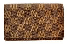 Louis Vuitton Damier Ebene Canvas Tresor Wallet. - NO COLOR - STYLE