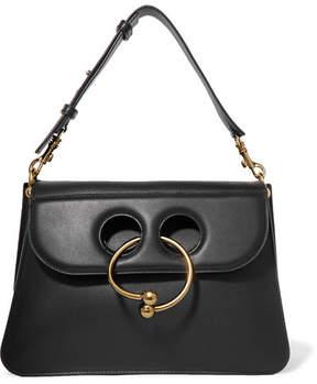 J.W.Anderson - Pierce Medium Leather Shoulder Bag - Black