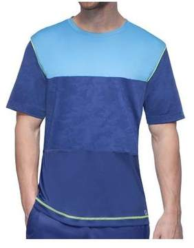 Fila Men's Camo Contrast Crew T-Shirt