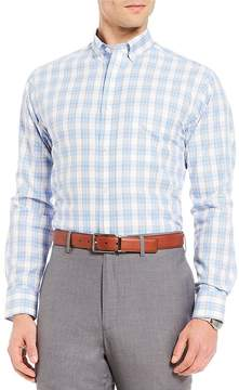 Daniel Cremieux Signature Check Pinpoint Long-Sleeve Woven Shirt