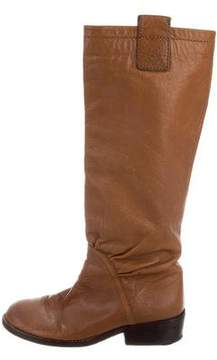 Marc by Marc Jacobs Leather Knee-High Boots