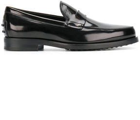 Tod's varnished loafers