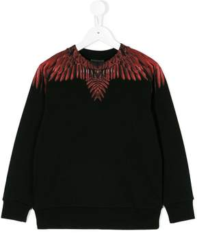 Marcelo Burlon County of Milan Kids Wings sweatshirt