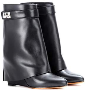 Givenchy Tria leather boots