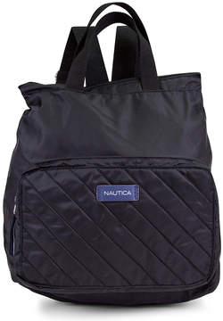 Nautica Black New Tack Foldable Backpack