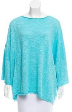 eskandar Mélange Linen-Blend Sweater w/ Tags