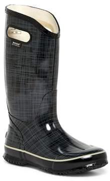 Bogs Waterproof Linen Printed Rain Boot