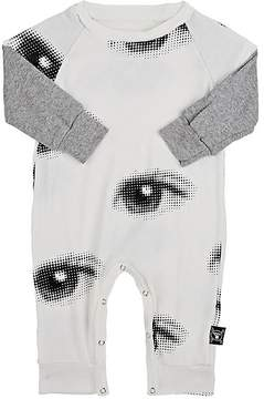 Nununu Eye-Print Cotton Jersey Coverall