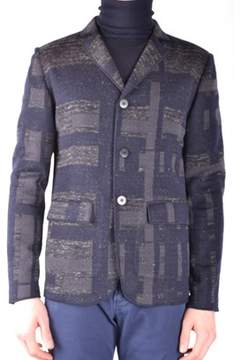 Hosio Men's Multicolor Wool Blazer.